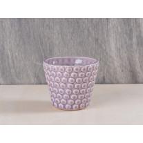 Bloomingville Votive Punkte rosa - Kerzenhalter aus Porzellan