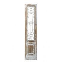 Chic Antique Fensterladen mit Gitter 198 cm