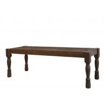 Chic Antique Sitzbank mit Schnitzereien 123 cm