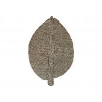 Chic Antique Matte Blatt aus Seegras 75 cm