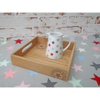 Deko Tablett Christmas aus Holz 20 cm