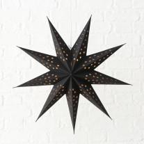 Faltstern Hänger Sterne Schwarz 60 cm