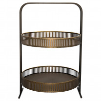 Greengate Etagere Metall Antik Gold