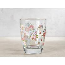 Greengate Glas ELLIE mit Blumen