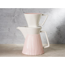 Greengate Kaffeekanne ALICE PALE PINK Rosa mit Filter
