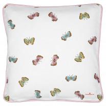Greengate Kissen MAISIE Weiß Schmetterlinge 40x40