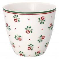 Greengate Latte Cup ABI PETIT Weiß