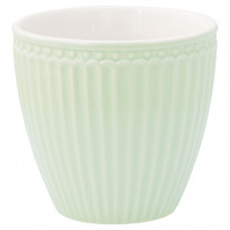 Greengate Latte Cup Becher ALICE PALE GREEN Grün