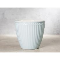 Greengate Latte Cup Becher ALICE PALE BLUE Blau