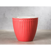 Greengate Latte Cup Becher ALICE CORAL
