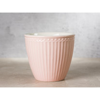 Greengate Latte Cup Becher ALICE PALE PINK Rosa