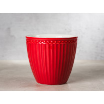 Greengate Latte Cup Becher ALICE ROT