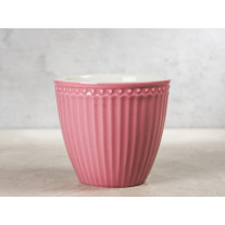 Greengate Latte Cup ALICE DUSTY ROSE Rosa