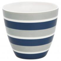 Greengate Latte Cup ALYSSA Blau Streifen