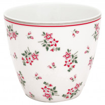Greengate Latte Cup AVERY Weiss