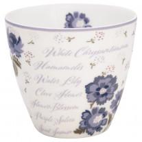 Greengate Latte Cup BEATRICE Weiß