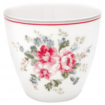 Greengate Latte Cup ELOUISE Weiß Rot