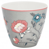 Greengate Latte Cup SIENNA Grau
