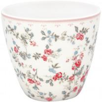 Greengate Latte Cup CARLY Weiß