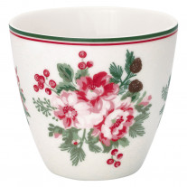 Greengate Latte Cup CHARLINE Weiß