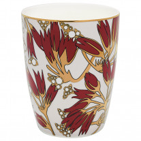 Gate Noir GreenGate Latte Cup Florette bordeaux