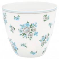 Greengate Latte Cup NICOLINE Weiß Blau