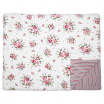Greengate Quilt ELOUISE Weiß Rot 140x220