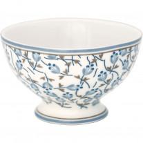 Greengate Schale ADDISON Weiß Blau 180 ml - Snack Bowl