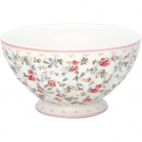 Greengate Schale CARLY Weiss 400 ml - French Bowl x-Large