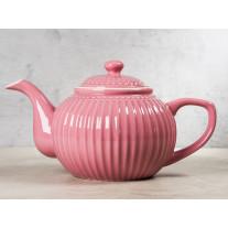 Greengate Teekanne ALICE DUSTY ROSE Rosa
