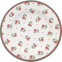 Greengate Teller ABI PETIT Weiß 15 cm