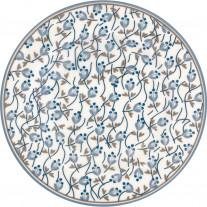 Greengate Teller ADDISON Weiß Blau 15 cm
