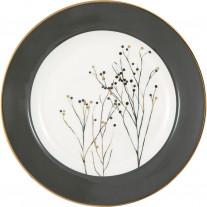 Greengate Teller ANTONIA Weiß mit Goldrand 20 cm