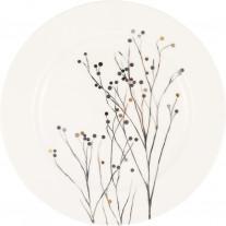 Greengate Teller ANTONIA Weiß 15 cm