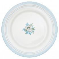 Greengate Essteller NICOLINE Weiß Blau 26 cm