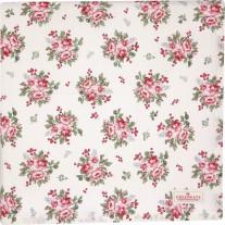 Greengate Tischdecke CHARLINE Weiß 145x250