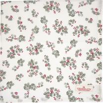 Greengate Tischdecke SCARLETT Weiß 150x150
