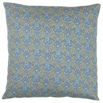 IB Laursen Kissenhülle Paisley Blumen Blau 50x50