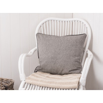 IB Laursen Kissenbezug schwarz/grau gewebt 50x50