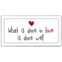 IB Laursen Magnet What is done in Love