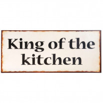 IB Laursen Schild King of the kitchen
