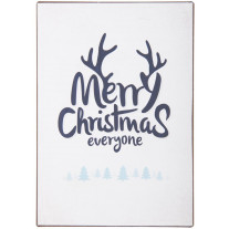 "IB Laursen - Metallschild ""Merry Christmas Everyone"""