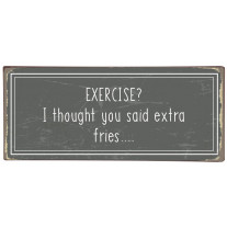 IB Laursen Schild Exercise – Extra Fries