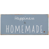 IB Laursen Schild Happiness is homemade