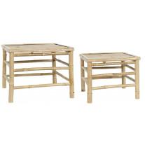 IB Laursen Tisch Bambus 2er Set