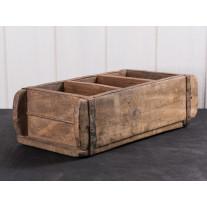 IB Laursen - Ziegelform 3-fach aus Holz Unikat