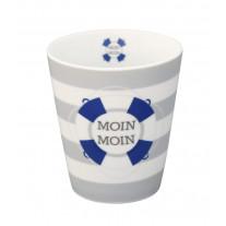 Krasilnikoff Becher Happy Mug Moin Moin