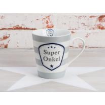 Krasilnikoff Happy Mug Henkel Becher - Super Onkel