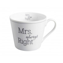 Krasilnikoff Happy Cup Becher Mrs. Always Right