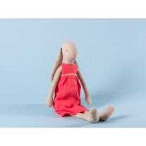 Maileg Hase im roten Kleid Size 3